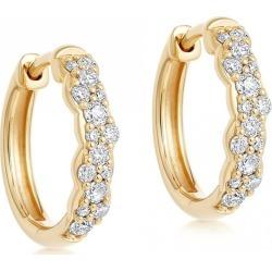 Astley Clarke - Medium Interstellar Diamond Hoop Earrings found on MODAPINS from Wolf & Badger US for USD $1653.00