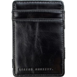 Flip leather wallet in black found on Bargain Bro from hardtofind.com.au for USD $22.70