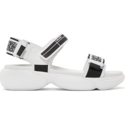 Prada White Cloudbust Sandals found on MODAPINS from ssense asia-pacific for USD $592.68