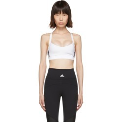 adidas Originals White All Me 3-Stripes Sports Bra found on MODAPINS from ssense asia-pacific for USD $34.83