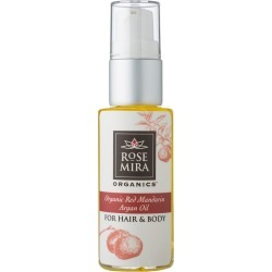Rosemira Organics - Organic Red Mandarin - Argan Hair & Body Oil found on Makeup Collection from Wolf and Badger for GBP 41.43