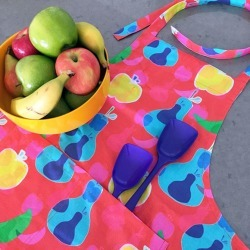 Fruit Salad Apron - 100% Cotton Duck, one size fits all found on Bargain Bro Philippines from hardtofind.com.au for $35.36