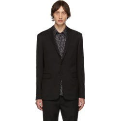 Fendi Black Wool Forever Fendi Blazer found on Bargain Bro India from ssense asia-pacific for $1760.00
