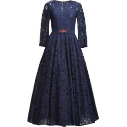 MATSOUR'I - Lace Dress Viktoria Blue found on Bargain Bro from Wolf & Badger US for USD $892.24