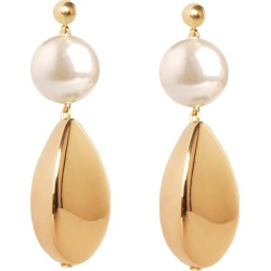Pietrasanta - Pearl & Gold Artemisia Earrings found on Bargain Bro Philippines from Wolf & Badger US for $162.00