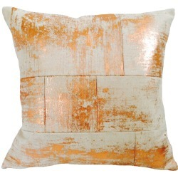 Mumo - Irregular Patchwork Cushion Copper found on Bargain Bro UK from Wolf and Badger