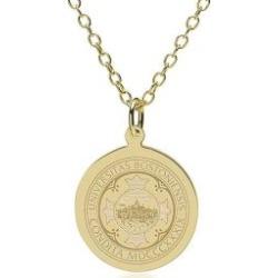 Boston University 14K Gold Pendant and Chain