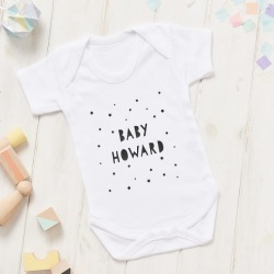 Personalised Baby Shower Onesie found on Bargain Bro India from hardtofind.com.au for $27.88