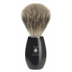 Muhle shaving brush modern K856 in polished black found on MODAPINS from hardtofind.com.au for USD $101.01