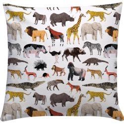 JAMES BARKER - Safari Animals Cushion found on Bargain Bro UK from Wolf and Badger