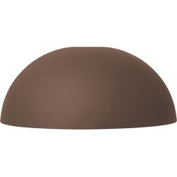 Dome Shade Red Brown
