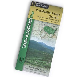 Nat Geo Presidential Range Map