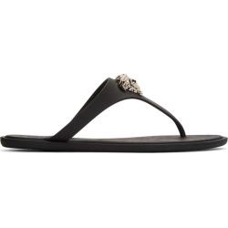 Versace Black Medusa Sandals