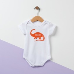 Personalised Diplodocus Dinosaur Baby Suit found on Bargain Bro from hardtofind.com.au for USD $28.11