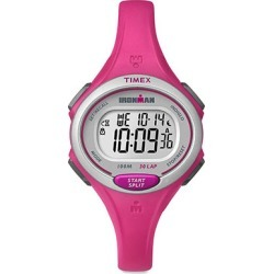 Timex Ironman Essential 30-Lap Mid Size Watch, Pink