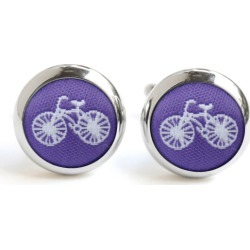 Purple Bike Cufflinks found on Bargain Bro India from hardtofind.com.au for $37.82