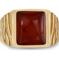 LMJ - Cracked Agate Stone Ring
