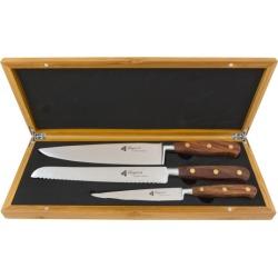 Laguiole by Louis Thiers - 3 Piece Séquoia Knife Set