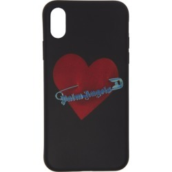 Palm Angels Black Pin My Heart iPhone X Case