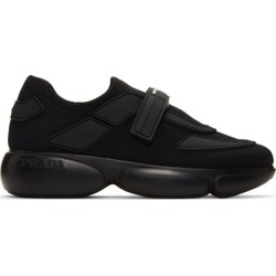 Prada Black Cloudbust Sneakers found on MODAPINS from ssense asia-pacific for USD $757.52