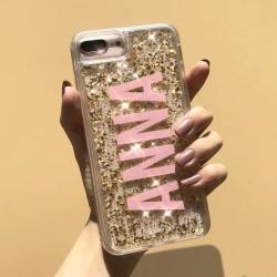 Karat Magic Custom Initial iPhone Case - Yellow Gold with 24K Gold