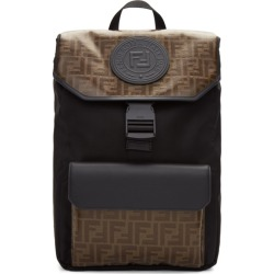 Fendi Black and Brown Forever Fendi Backpack found on Bargain Bro India from ssense asia-pacific for $1115.84