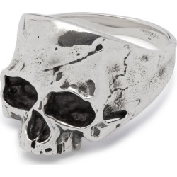 Northskull - Disfigured Medius Skull Ring In Silver found on MODAPINS from Wolf and Badger for USD $166.72