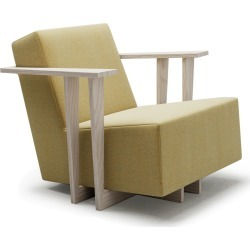 F2 Lounge Armchair Felicity, Natural