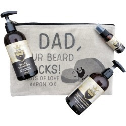 Your Beard Rocks Personalised Beard Kit found on MODAPINS from hardtofind.com.au for USD $87.92