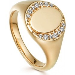 Astley Clarke - White Sapphire Biography Signet Ring found on MODAPINS from Wolf & Badger US for USD $208.00