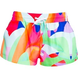 Ace Nayman - Graphic Multicolor Mini Shorts found on MODAPINS from Wolf and Badger for USD $99.20