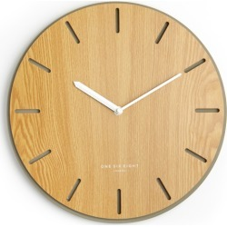 Gabriel Silent Concrete & Wood Wall Clock found on Bargain Bro Philippines from hardtofind.com.au for $82.14