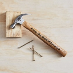 Personalised 'From The Shed Of.' hammer