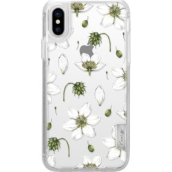 Anemone Pattern Classic Grip Case for iPhone