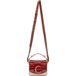 Chloe Pink and Red Mini Chloe C Bag