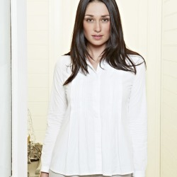 Classic cotton pintuck shirt found on Bargain Bro India from hardtofind.com.au for $61.66
