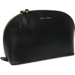 VIDA VIDA - Lunar Black Beauty Queen Leather Wash Bag found on Bargain Bro Philippines from Wolf & Badger US for $81.00