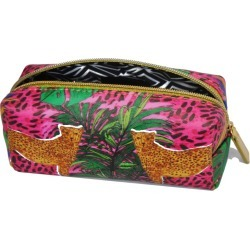 Jessica Russell Flint - Mini Make Up Bag - Hot Cheetah found on Bargain Bro UK from Wolf and Badger