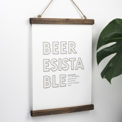 Funny Beer Definition Print