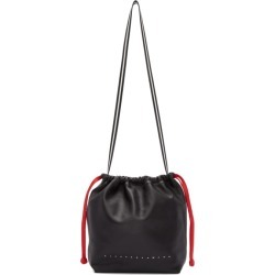 Alexander Wang Black Small Wefty Drawstring Tote found on MODAPINS from ssense asia-pacific for USD $459.29