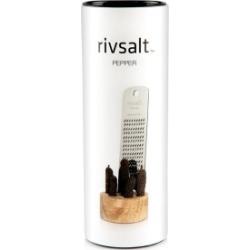 Rivsalt Pepper: Long Pepper + Stainless Steel Grater + Oak Stand found on Bargain Bro from hardtofind.com.au for USD $34.56