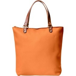 N'Damus London - Abbey Orange Large Leather Tote Bag found on Bargain Bro UK from Wolf and Badger