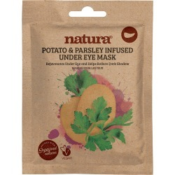 natura - Potato & Parsley Under Eye Mask (3 Pairs) found on Makeup Collection from Wolf and Badger for GBP 6.71