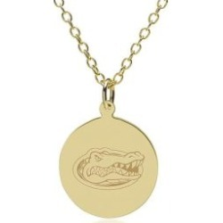 Florida 14K Gold Pendant and Chain