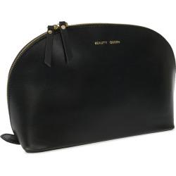 VIDA VIDA - Lunar Black Beauty Queen Leather Wash Bag found on Bargain Bro from Wolf & Badger US for USD $69.92