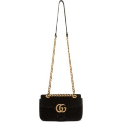 dc324eb6db3 Gucci Black Velvet Mini GG Marmont 2.0 Bag found on MODAPINS from ssense  asia-pacific