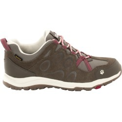Jack Wolfskin Women's Rocksand Texapore Low Waterproof Hiking Shoes, Dark Ruby - Size 6.5 found on MODAPINS from Eastern Mountain Sports for USD $47.98