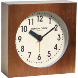 London Clock Company Maxwell silent alarm clock
