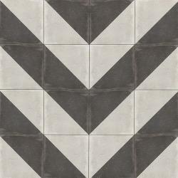"""Palazzo 12"""" x 12"""" Decorative Tile in Castle Graphite Villa"""