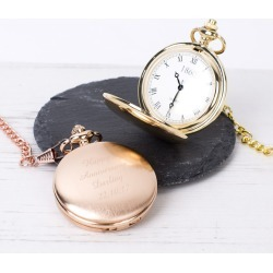 Initial Personalised Pocket Watch